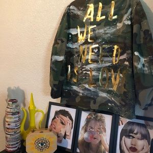 All we need is love jacket